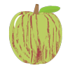gravenstein apple icon