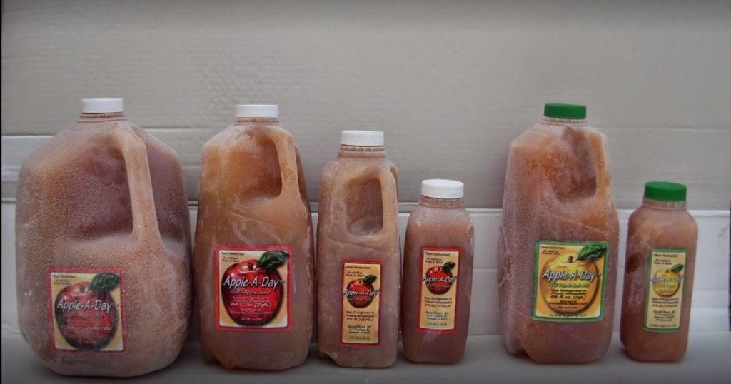 juice sizes